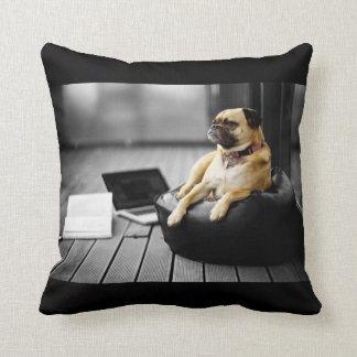 Pug at Rest Cushion