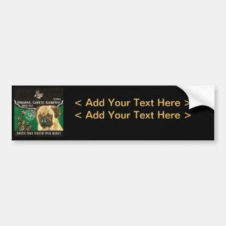 Pug Brand – Organic Coffee Company Bumper Stickers