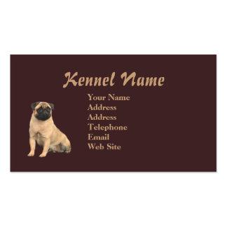 Pug Breeder Business Card