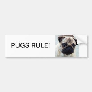Pug bumper stickers