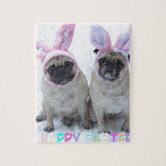 Pug bunny's jigsaw puzzle