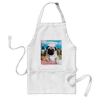 Pug Chef Apron
