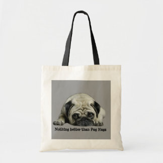 Pug Clown At Heart Tote Bag