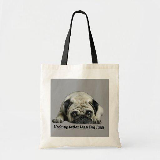 Pug Clown At Heart Tote Bag
