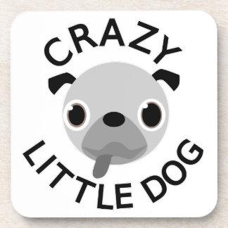 Pug Crazy Little Dog Coaster