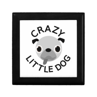 Pug Crazy Little Dog Gift Box