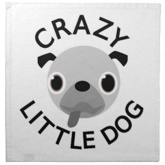 Pug Crazy Little Dog Napkin