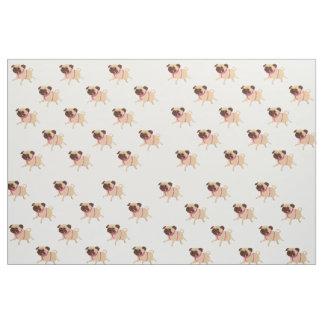 Pug custom fabric