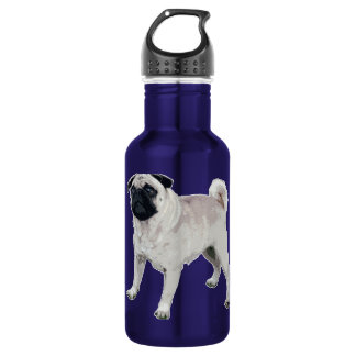 Pug cutie 532 ml water bottle
