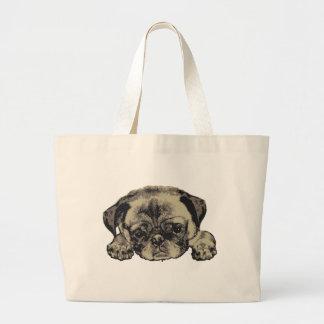 Pug cutie tote bag