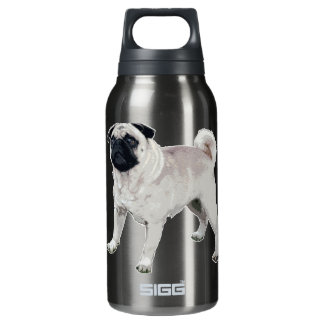 Pug cutie insulated water bottle