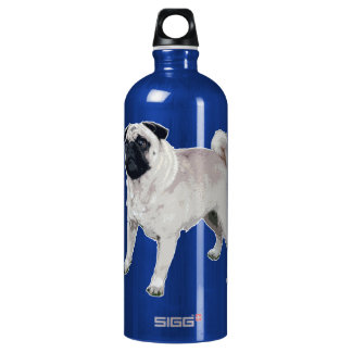 Pug cutie water bottle