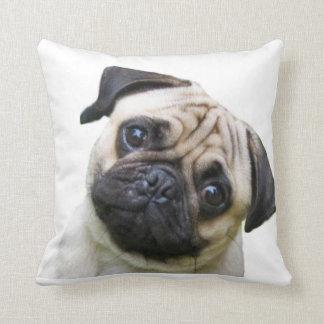 """""""Pug"""" design throw pillows Cushion"""