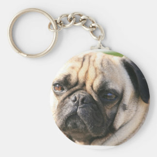 Pug Dog Breed  Keychain