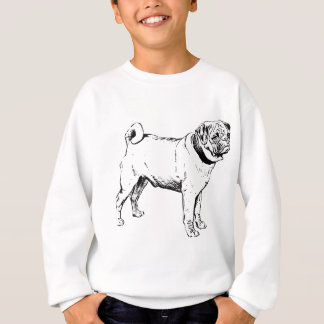 Pug Dog Breed Sweatshirt