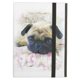 Pug Dog Case For iPad Air