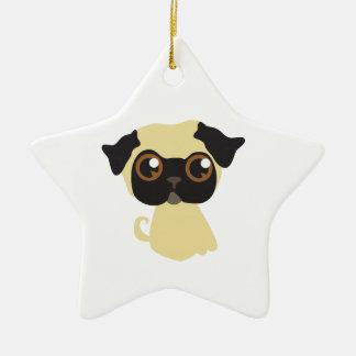 Pug Dog Christmas Ornaments