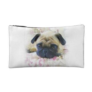Pug Dog Cosmetic Bags