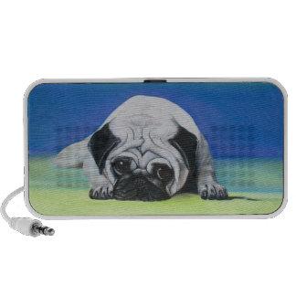 Pug Dog Doodle Speaker System