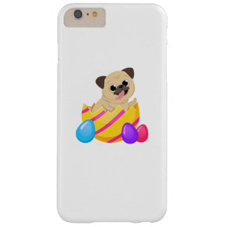 Pug Dog Egg Easter Funny Gift Love Dog Barely There iPhone 6 Plus Case