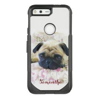 Pug Dog Google pixel phone case