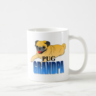 Pug Dog Grandpa Coffee Mug