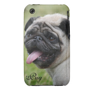 Pug dog iphone 3G case mate barely custom photo Case-Mate iPhone 3 Cases
