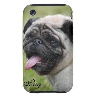 Pug dog iphone 3G case mate tough custom photo Tough iPhone 3 Case