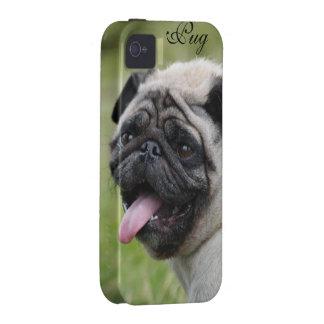 Pug dog iphone 4 case mate tough custom cute photo