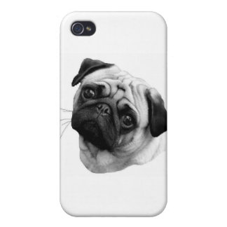 Pug Dog  iPhone 4/4S Cover