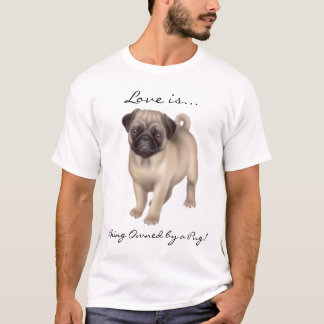 Pug Dog Love Shirt