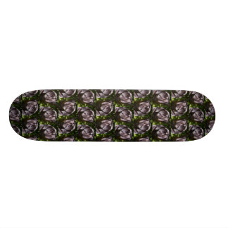 Pug dog pattern custom skate board