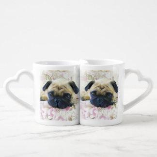 Pug Dog Couples Mug
