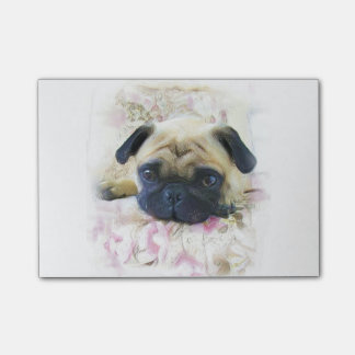 Pug Dog Post-it® notes