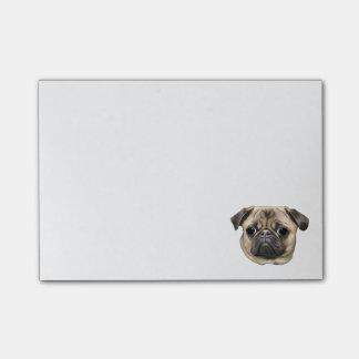 Pug Dog Post-it® Notes