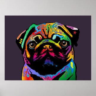 Pug Dog Print