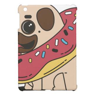 Pug Donut Sweets Tasty Bun Cupcake Cover For The iPad Mini