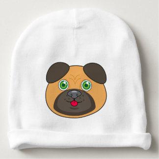 Pug Face Baby Cotton Beanie Baby Beanie