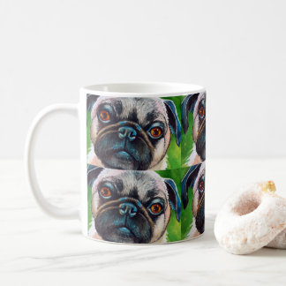 Pug Face Close up Coffee Mug