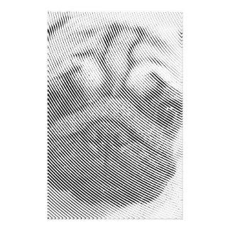 Pug Face Stationery