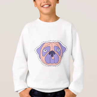 Pug Face Sweatshirt