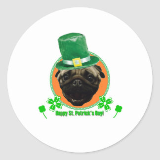 Pug for Paddy Sticker