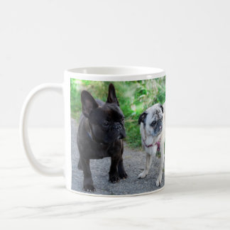 PUG & FRENCH BULLY - photo Jean Louis Glineur Coffee Mug