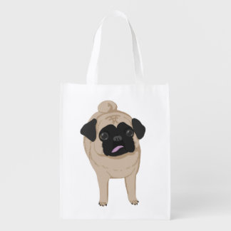 Pug Front and Butt Tote