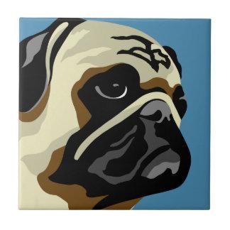 Pug Gifts Ceramic Tile