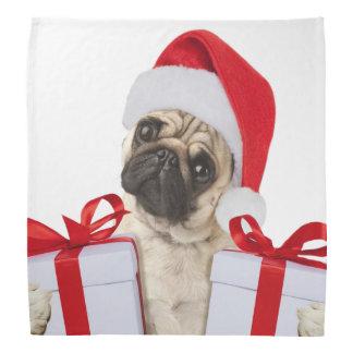 Pug gifts - dog claus - funny pugs - funny dogs bandana