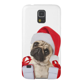 Pug gifts - dog claus - funny pugs - funny dogs galaxy s5 cover