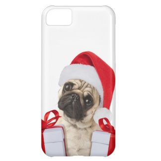 Pug gifts - dog claus - funny pugs - funny dogs iPhone 5C case