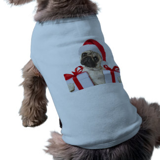 Pug gifts - dog claus - funny pugs - funny dogs shirt