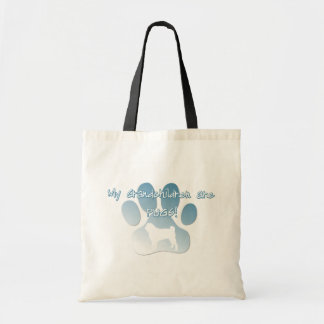 Pug Grandchildren Bag